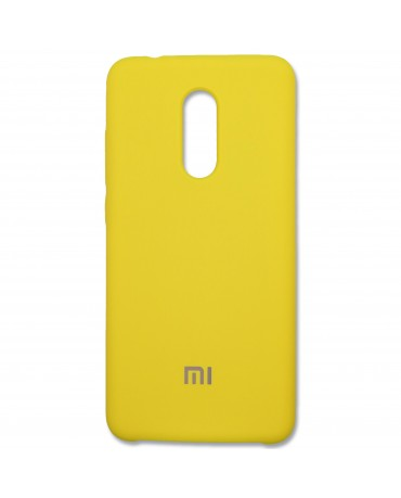 Накладка for Xiaomi Redmi 5 Plus Yellow