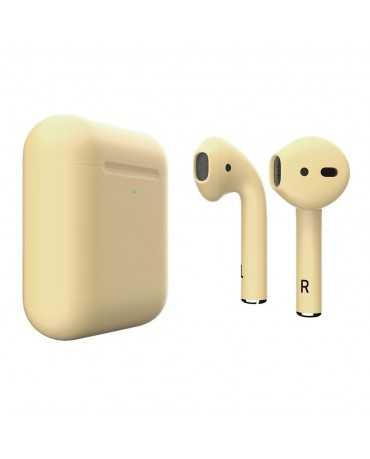 Apple AirPods 2 Colors Light Yellow Matte (MRXJ2)